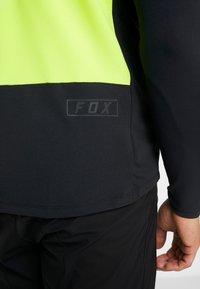 Fox Racing - DEFEND DELTA LUNAR - Sports shirt - day glow yellow - 8