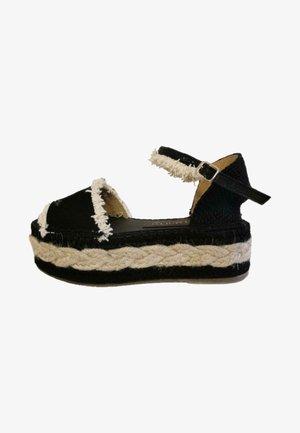ANDREA - Sandalias con plataforma - black