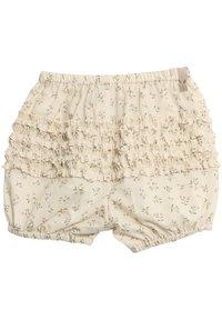 Wheat - Shorts - eggshell flowers - 1