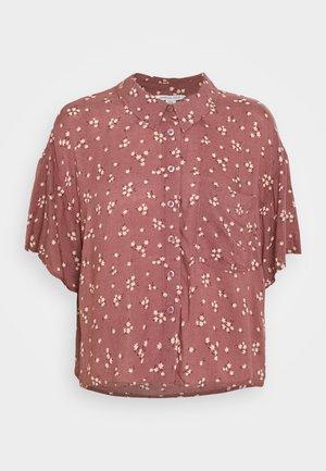 CORE CROP  - Button-down blouse - purple