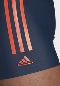 adidas Performance - SEMI 3-STRIPES  - Swimming trunks - blue - 3