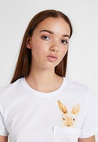 Even&Odd - Print T-shirt - white - 3