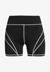 Missguided Tall - PANEL CYCLING - Shorts - black - 3