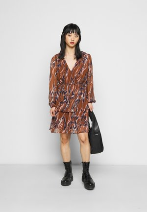 YASASTEA DRESS - Day dress - tortoise shell/astea