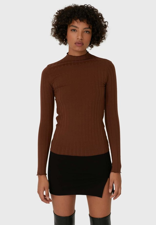T-shirt à manches longues - dark brown