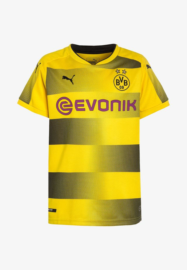 BORUSSIA DORTMUND HOME - Club wear - cyber yellow/black