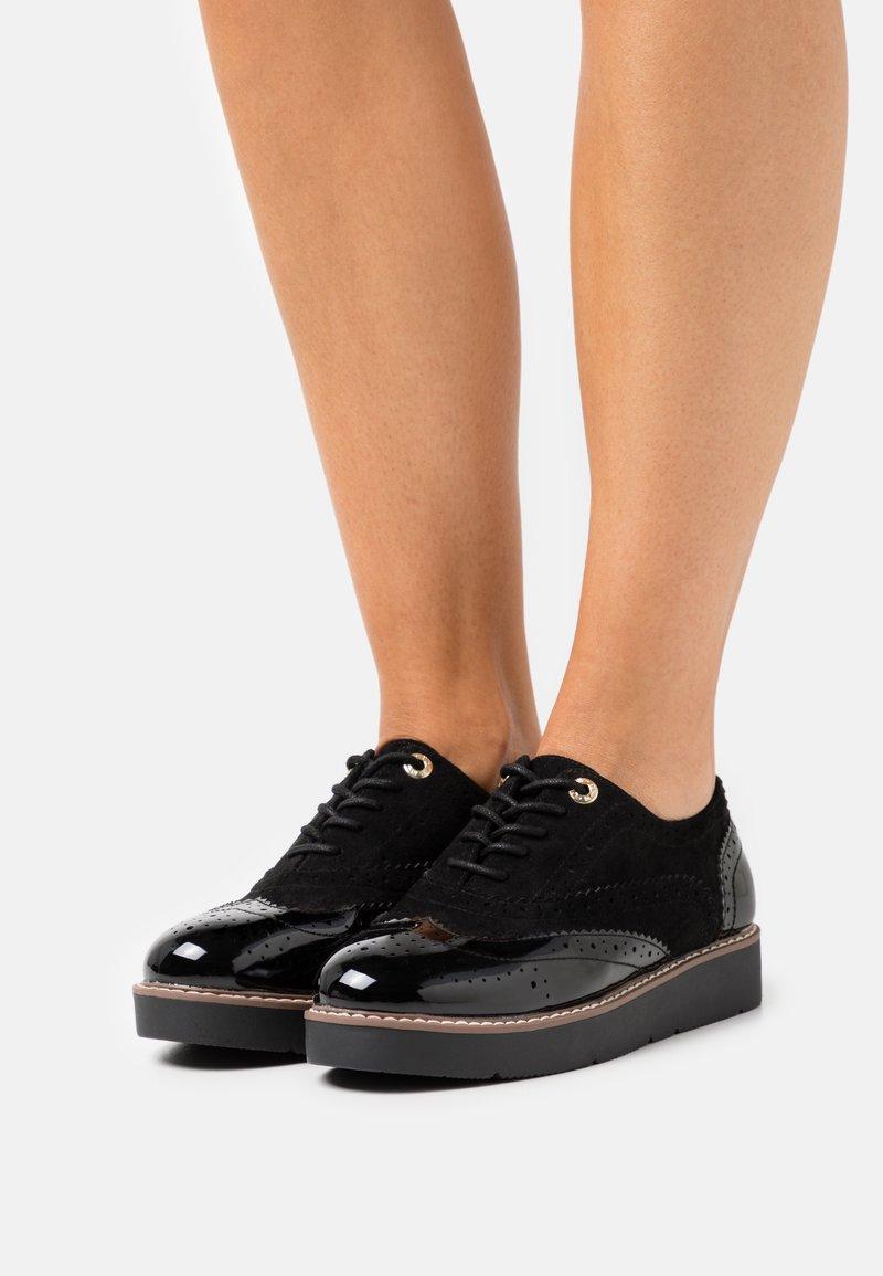 River Island - Zapatos de vestir - black