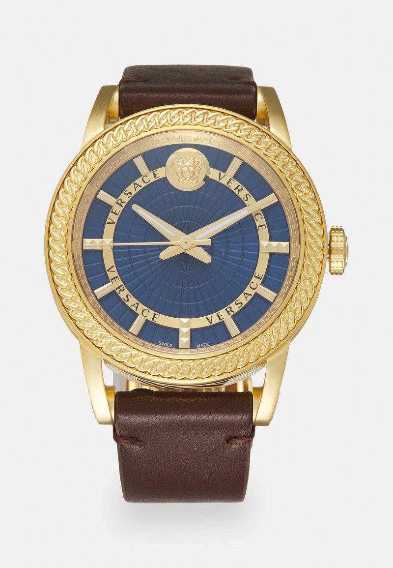 Versace Watches - CODE - Klokke - brown/blue