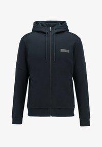 BOSS - SAGGY BATCH Z - Sweater met rits - dark blue - 4