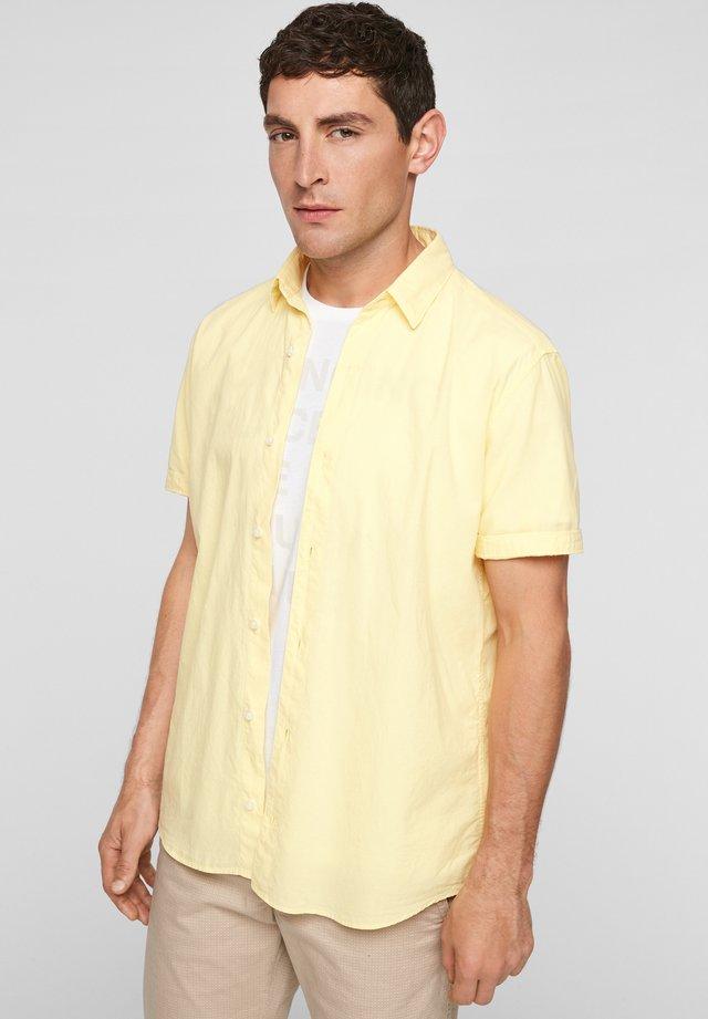 Overhemd - light yellow