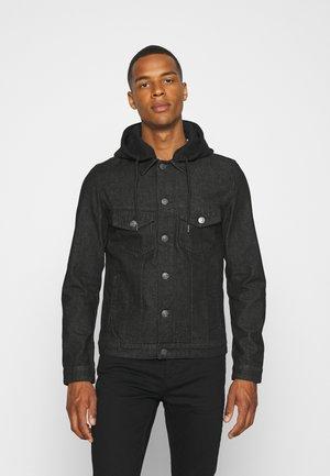 JJIALVIN JJJACKET  - Giacca di jeans - black denim