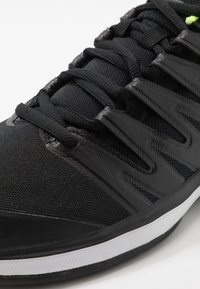Nike Performance - AIR ZOOM PRESTIGE CLAY - Clay court tennis shoes - black/white/volt - 5