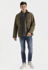 camel active - FIELD JACKET - Summer jacket - olive - 1