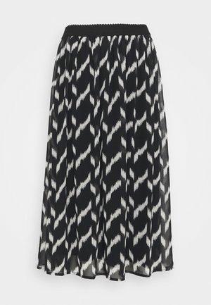 SC-OHANA 2 - Áčková sukně - black