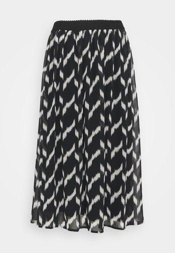 SC-OHANA 2 - A-line skirt - black