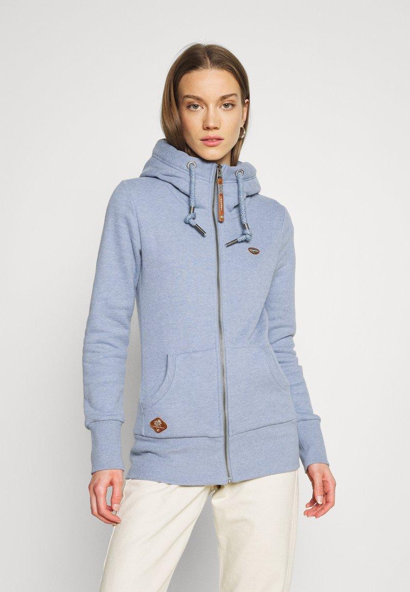 Ragwear - NESKA ZIP - Zip-up sweatshirt - lavender