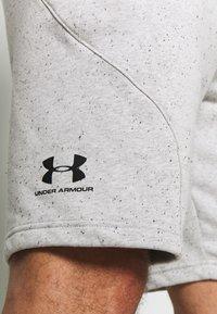 Under Armour - SPECKLED SHORT - kurze Sporthose - onyx white/black - 5
