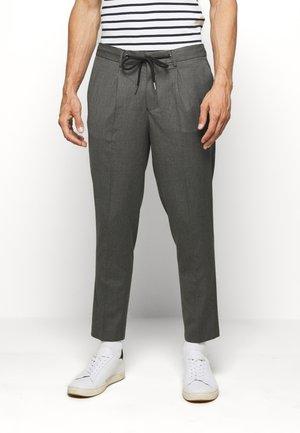 JAX GREY CROP PANTS - Trousers - grey