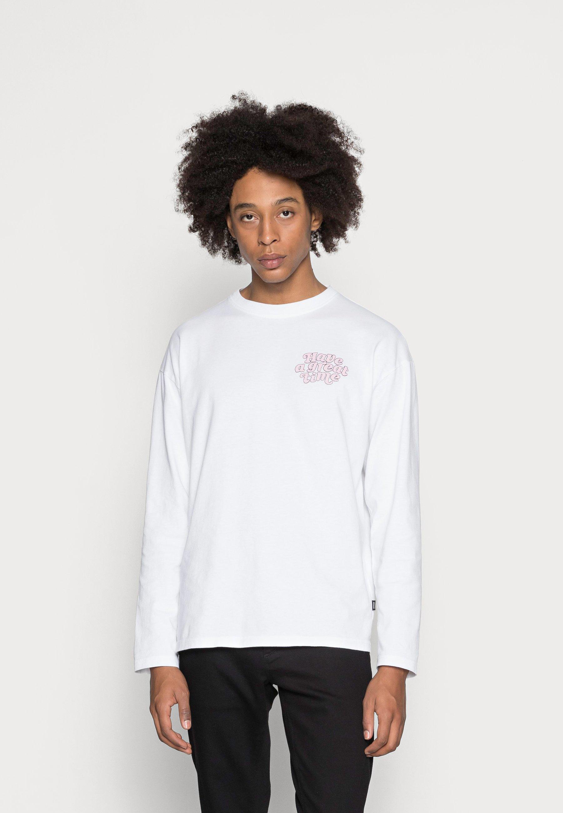 Herrer MODDY LONG SLEEVE - Langærmede T-shirts