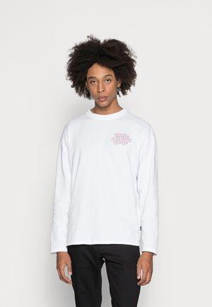 MODDY LONG SLEEVE - Långärmad tröja - white