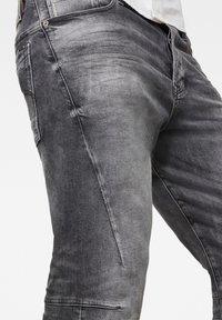 G-Star - SCUTAR 3D SLIM TAPERED - Slim fit jeans - vintage basalt - 4