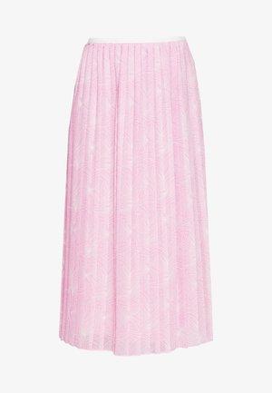 Gonna a campana - pink/white