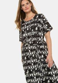Ulla Popken - Maxi dress - dark blue - 0