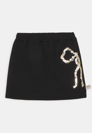 GONNA - Mini skirt - black