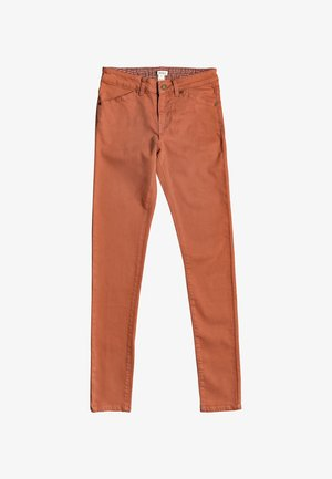 STAND BY YOU - Vaqueros slim fit - auburn