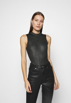 COATED MILANO  - Top - black