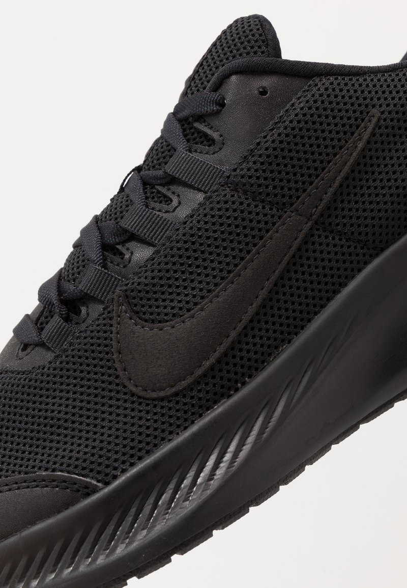 Zumbido Buen sentimiento En realidad  Nike Performance RUNALLDAY 2 - Neutral running shoes -  black/anthracite/black - Zalando.co.uk
