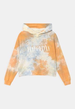 GIRLS BOXY HOODIE - Huppari - orange