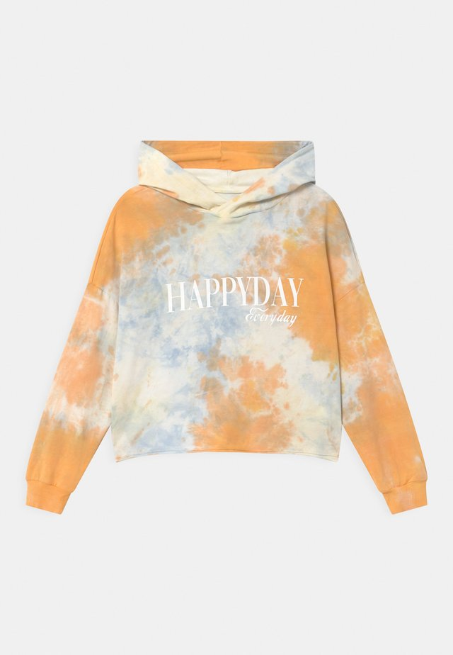 GIRLS BOXY HOODIE - Hættetrøjer - orange