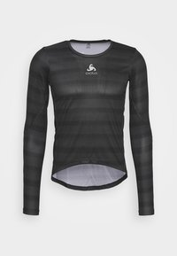 ODLO - CREW NECK ZEROWEIGHT CERAMIWA - Sports shirt - graphite grey/black - 0