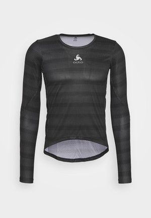 CREW NECK ZEROWEIGHT CERAMIWA - Sports shirt - graphite grey/black