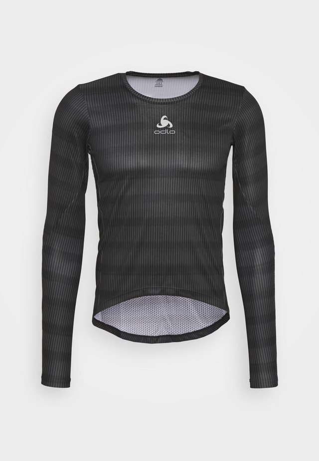 CREW NECK ZEROWEIGHT CERAMIWA - T-shirt sportiva - graphite grey/black