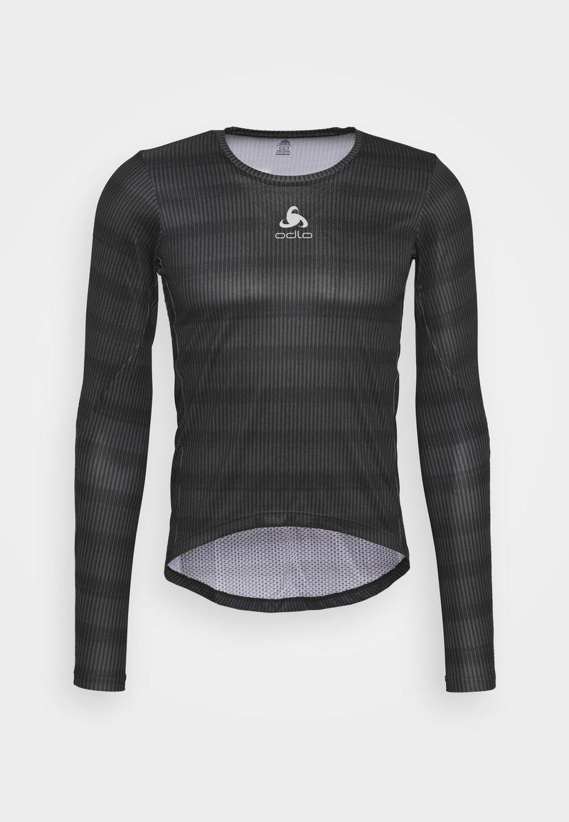 ODLO - CREW NECK ZEROWEIGHT CERAMIWA - Sports shirt - graphite grey/black
