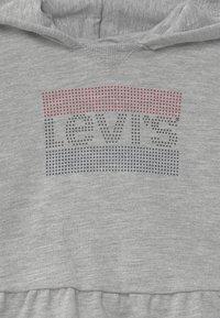 Levi's® - PEPLUM HOODIE SET - Hoodie - mottled grey/dark blue - 3