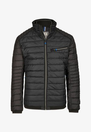 Winter jacket - dark grey, black