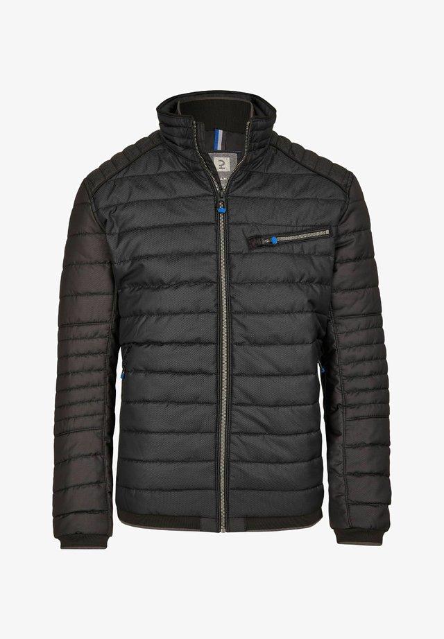 Winter jacket - dark grey, black