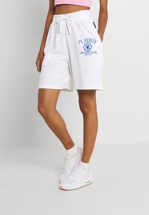 PLAYBOY SPORTS WAFFLE - Shorts - white