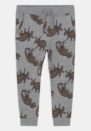 NMMLOKE PANT - Trousers - grey melange