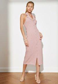 Trendyol - PARENT - Shirt dress - pink - 0