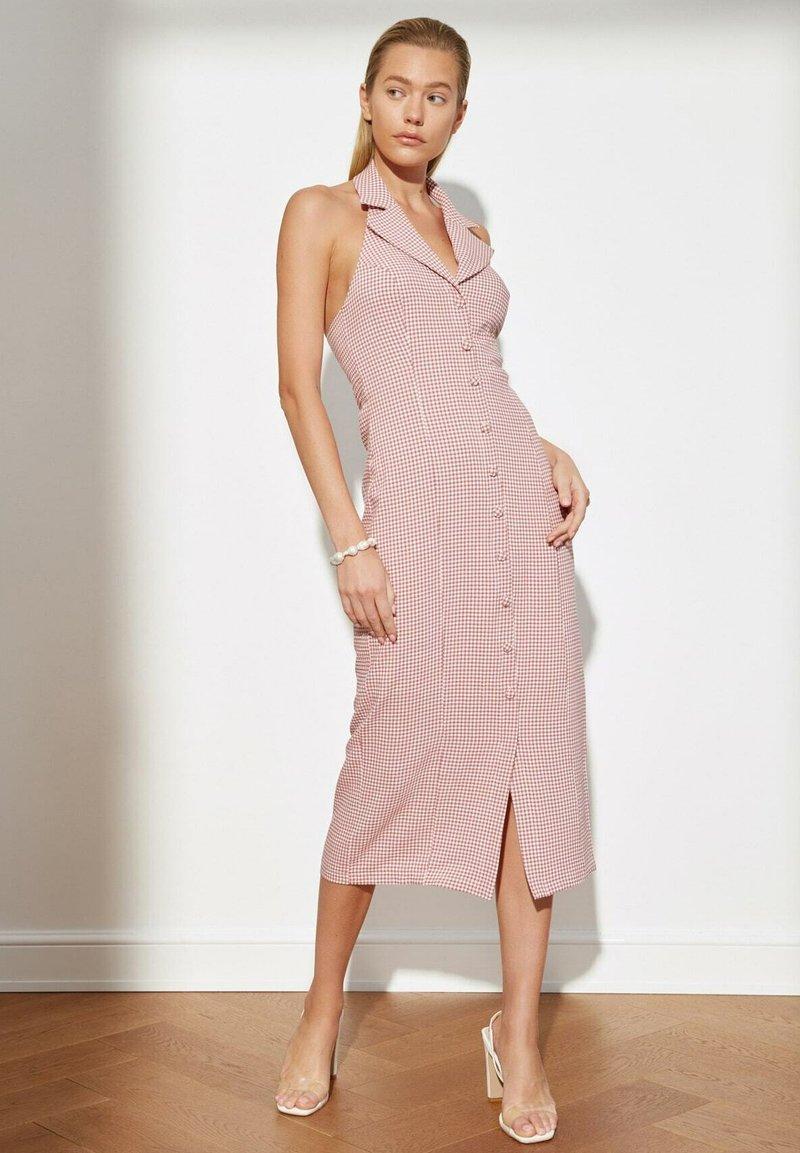 Trendyol - PARENT - Shirt dress - pink