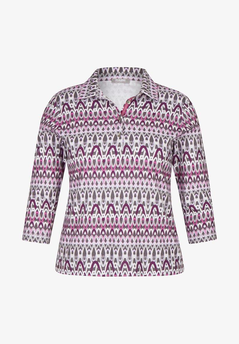 Rabe 1920 - MIT KRAGEN UND GLITZER-DETAILS - Long sleeved top - pink