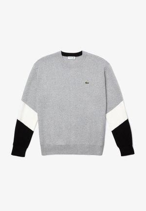 RELAX FIT  AH2060 - Sweatshirt - gris chine / blanc / noir