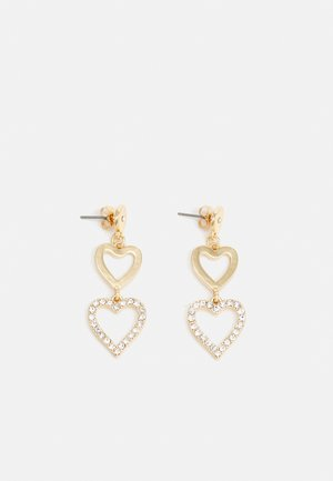 PCKIRSTINIA EARRINGS - Earrings - gold-colored