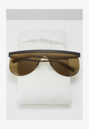 Sunglasses - ruthenium/beige-brown