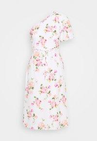 ONE SHOULDER OCCASION DRESS - Denní šaty - ivory
