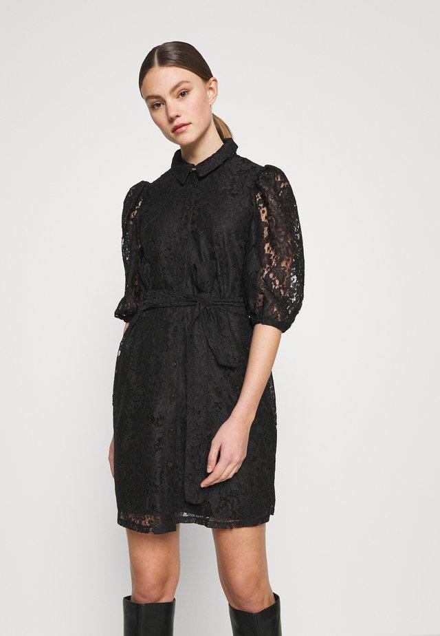 VMBONNA DRESS - Robe chemise - black